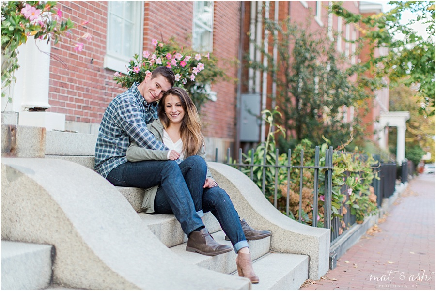 New Hampshire Engagement Photography